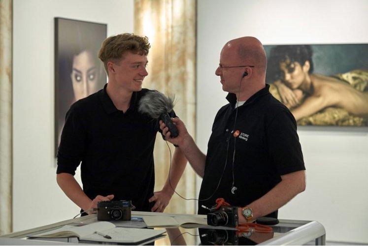 Podcast-Episode aus dem Leica Store Porto (Kundenreise)